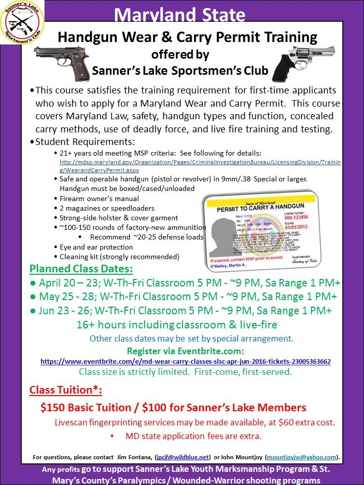 Sanners Lake Sportmen S Club Firearms Training